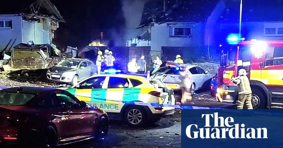 Adults and children still in hospital after 'harrowing' gas explosion in Ayrshire