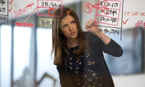 Smart but wasted in this film … Anna Kendrick in The Accountant.