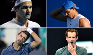Roger Federer, Rafael Nadal, Andy Murray and Novak Djokovic all have concerns ahead of this year's Australian Open