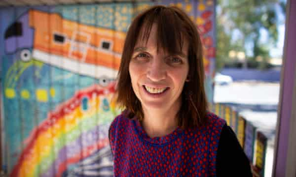Purple House CEO Sarah Brown at the Purple House in Alice Springs. 22 October 2019.