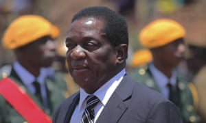 Zimbabwe's fired vice-president Emmerson Mnangagwa in Harare on 1 November