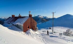 Another mountain hut amid the Velebit range.