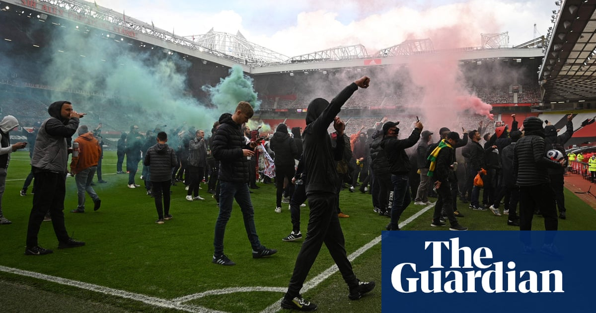 Manchester United v Liverpool postponed after fans invade Old Trafford in protest