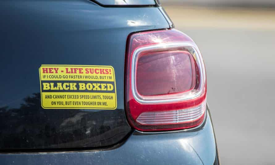 Seeing the funny side: but for many drivers the scores registered by the black box remain a mystery.