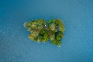 Promised Island, in the aerial category