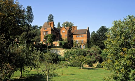 Suffused by Churchill's presence … Chartwell in Kent.
