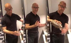 Stanley Tucci makes a negroni ... and unites the internet.