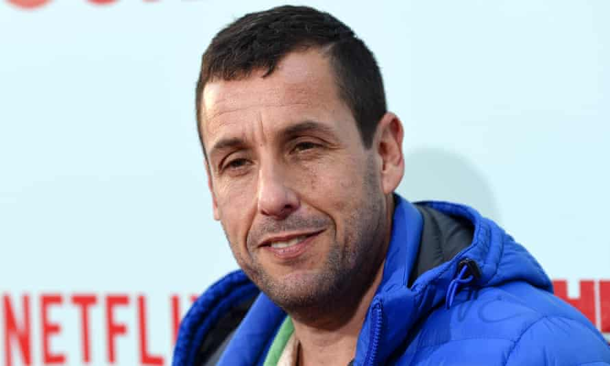 Adam Sandler at the premiere of The Do-Over.