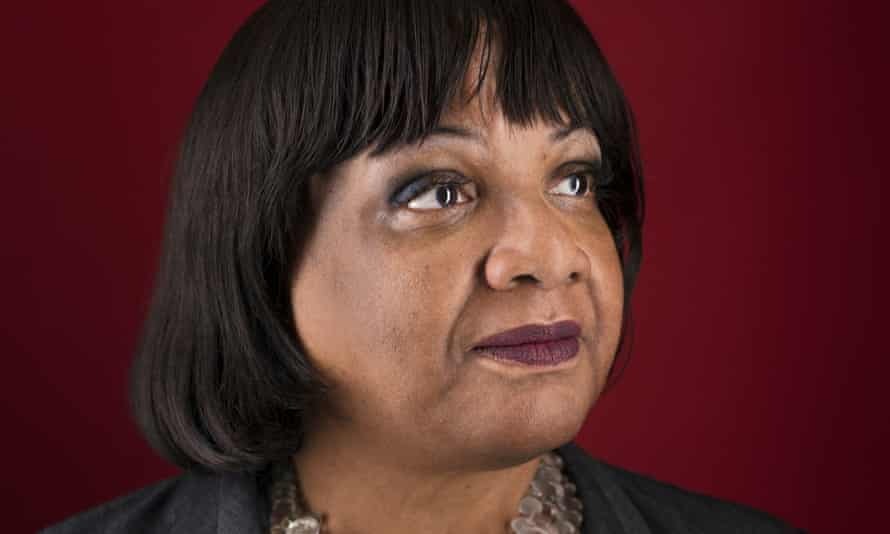 Diane Abbott: 'I refused to make white people's racism my problem.'