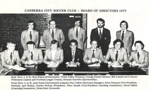 Canberra City's board