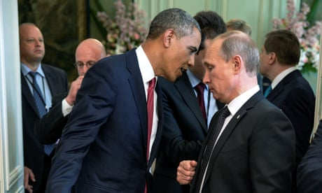 Pete Souza's best photograph: Obama lays into Putin