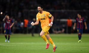 Juventus captain Gianluigi Buffon is rather pleased ...