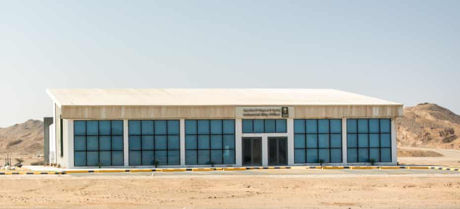 An industrial parkin Saudi Arabia built to provide women-only workplaces