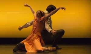 Nancy Osbaldeston and Guilherme Menezes in English National Ballet's Vera by Stina Quagebeur.