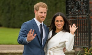 Prince Harry and the Duchess of Sussex Meghan Markle