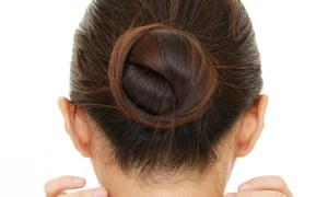 A woman's hair