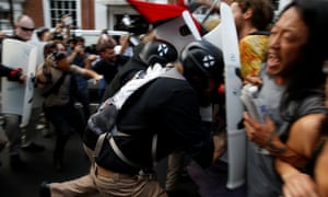 Virginia's governor declared a state of emergency amid violence in Charlottesville.