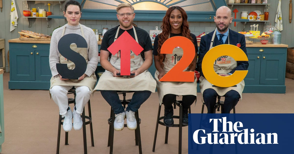 TV tonight: celebrities face off in the charity Bake Off tent
