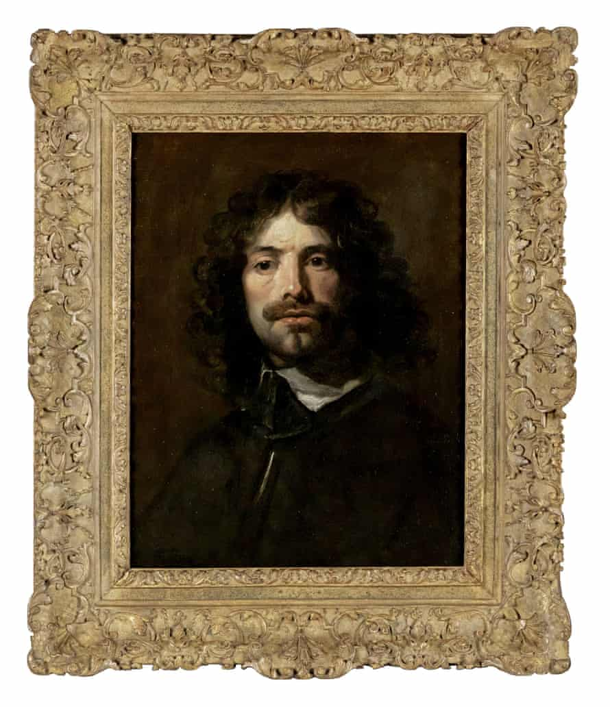Painting in the big league … William Dobson. Portrait of the Artist.