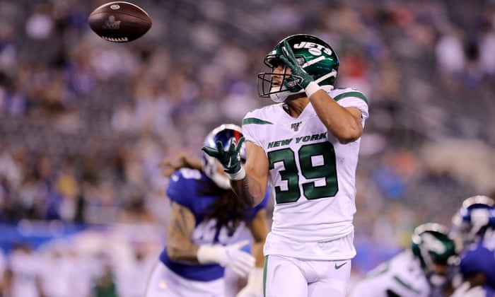 new style 8067b fe7eb Valentine Holmes impresses on NFL debut for New York Jets ...