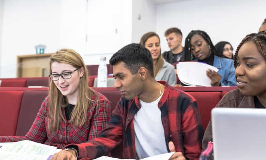 Students at the University of Aston