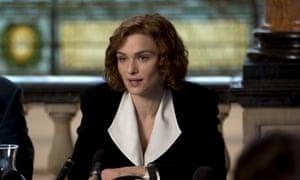 Glamourised … Rachel Weisz as Lipstadt in a scene from Denial.