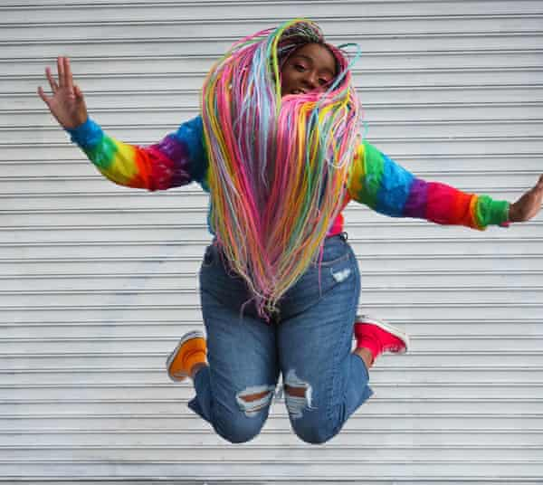 Amina Mucciolo: 'I have one life, so I'm going to live it colourfully.'