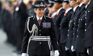 Cressida Dick inspects police cadets