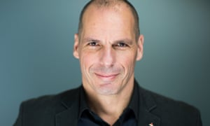 Former Greek finance minister and author of Talking to My Daughter About the Economy Yanis Varoufakis.