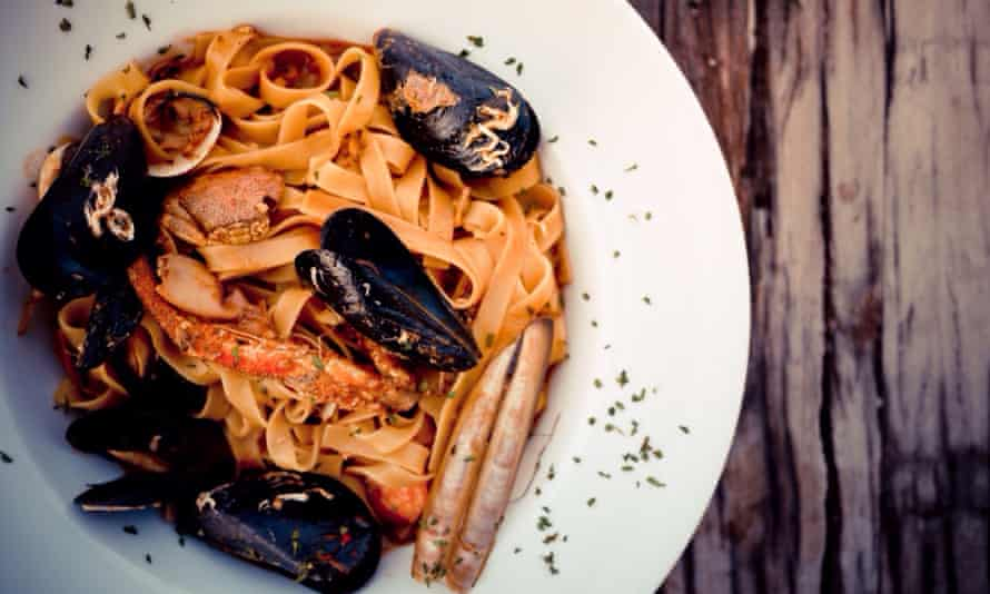 Great seafood, and Italian influences, abound