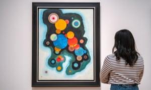 Vertiefte Regung (Deepened Impulse) by Wassily Kandinsky
