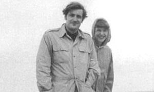 Ted Hughes and Sylvia Plath in Massachusetts in May 1959