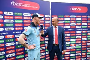 Stokes tells Nasser Hussain all about that catch.