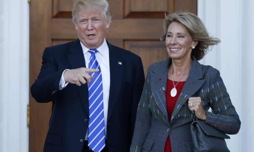 Donald Trump, Betsy DeVos