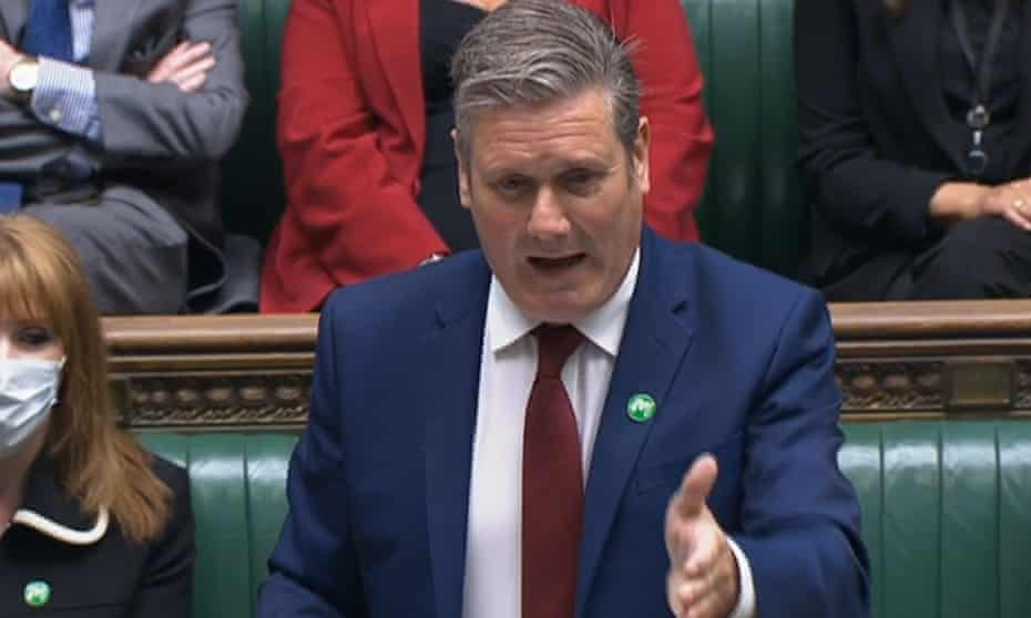 keir starmer at prime minister's questions