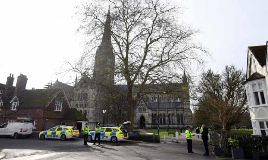 Police in Salisbury