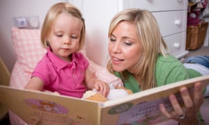 Books at bedtime … once a child is able to read alone, shared reading can seem an anachronism.