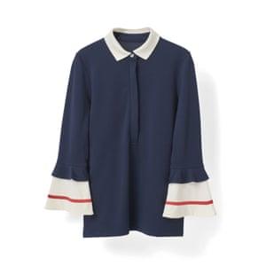 Navy, £115, ganni.com