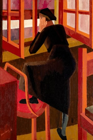 At the Window, by David Bomberg.
