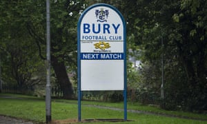 Bury were expelled from League One in August after players and staff went unpaid in a financial collapse.