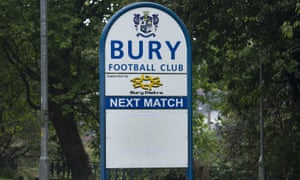 Bury have been expelled from the EFL.