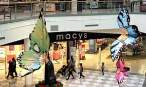 A shopping mall in San Mateo, California, earlier this week