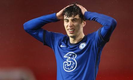 Kai Havertz has only provided one goal and one assist in his six league games for Chelsea so far.