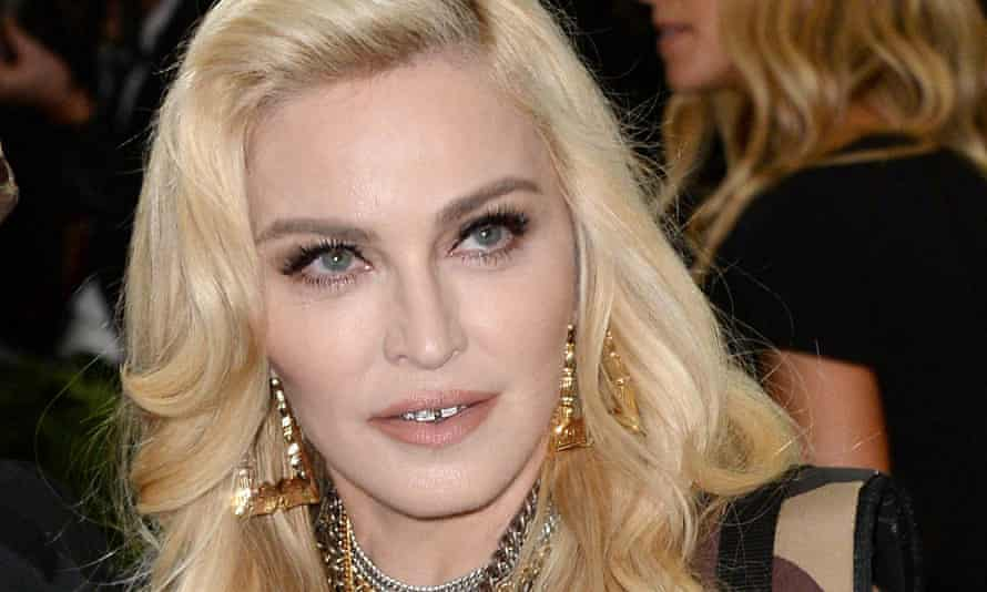 Madonna adopted four-year-old twins Stella and Estere in February.