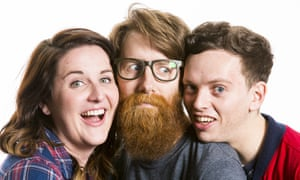 Jess, Dave and Matt from the Do Go On Podcast