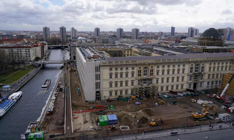 Site of the new museum in Berlin