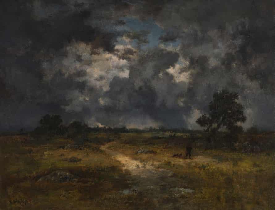 Narcisse-Virgilio Diaz de la Peña, The Storm 1871