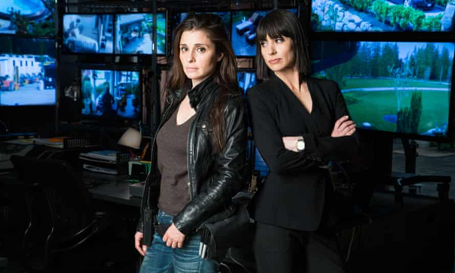 Shiri Appleby and Constance Zimmer in season two of Unreal.