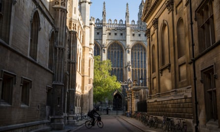 Cambridge University reported that it had lost 184 staff from EU countries in the past year.