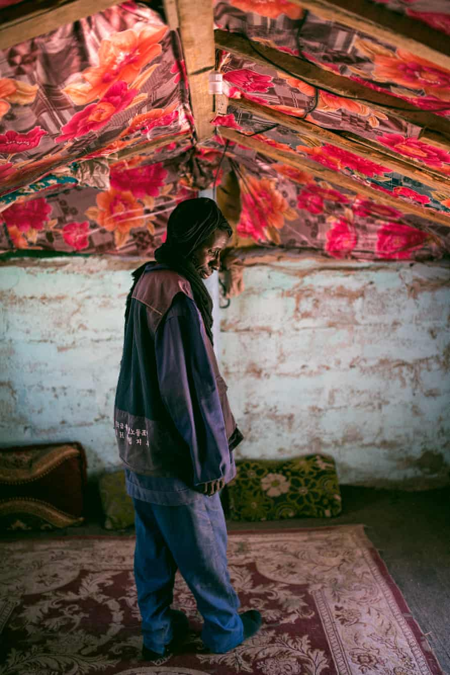 Salek was born into slavery because his mother – originally from Senegal – was a slave to a white Berber family